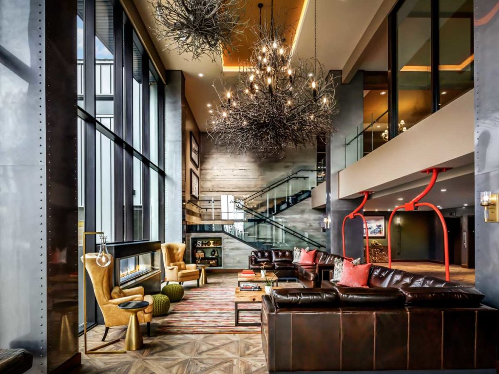 Lobby at The Josie